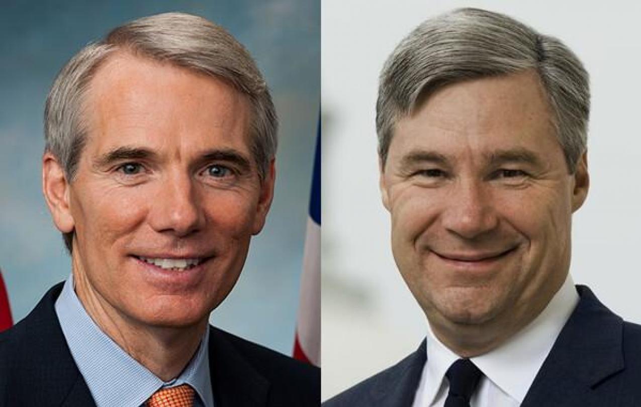 Sen. Portman and Sen. Whitehouse